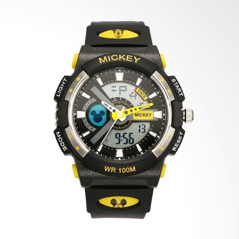 Disney MS15025-Y Mickey Jam Tangan Sports - Hitam Kuning