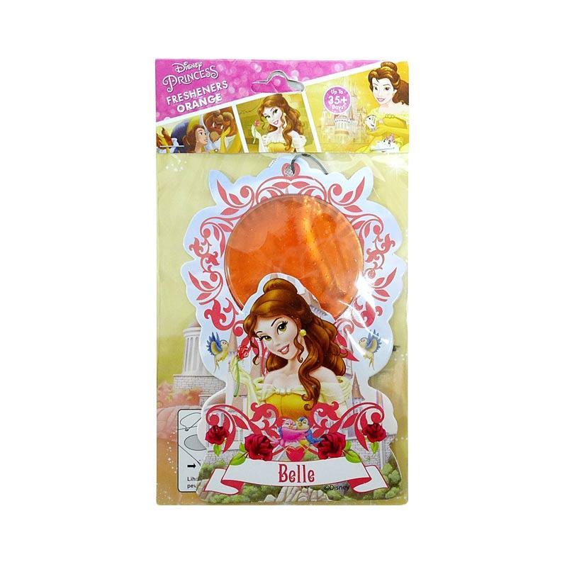 Disney Princess BL01 Belle Hanging Air Freshener Parfum Mobil dan Ruangan - Orange