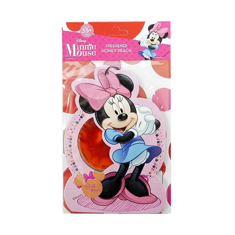 Disney MN01 Minnie Mouse Hanging Air Freshener Parfum Mobil dan Ruangan - Honey Peach