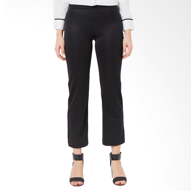 A&D Fashion MS 614 Ladies Long Pants Celana Wanita - Black