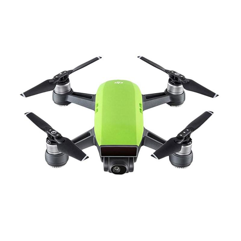 DJI Spark Fly More Combo Drone Camera - Meadow Green
