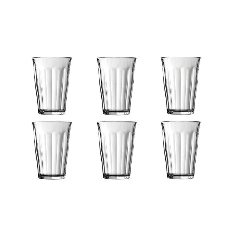 Duralex Picardie Tumbler Set Gelas [360 mL/ 6 pcs]