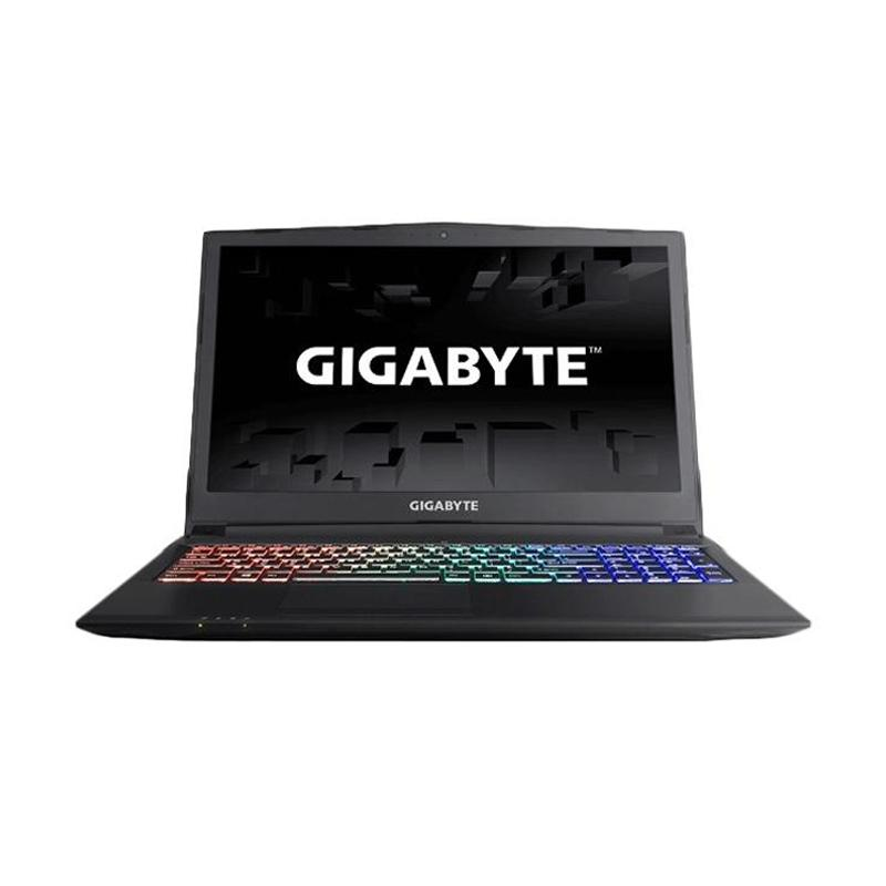 Gigabyte Sabre 15 P45W - Hitam [i7 7700HQ/8GB/128GB+1TB/GTX1060/15.6IPS FHD/DOS]
