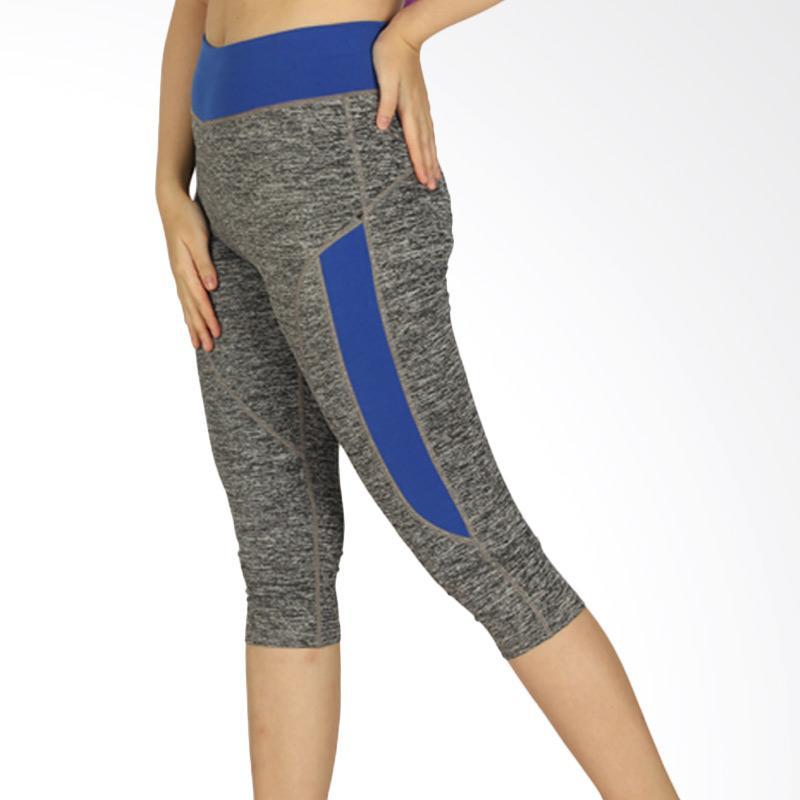 GRAZIEE P-0518-3402 Celana Olahraga Wanita - Grey Royal Blue