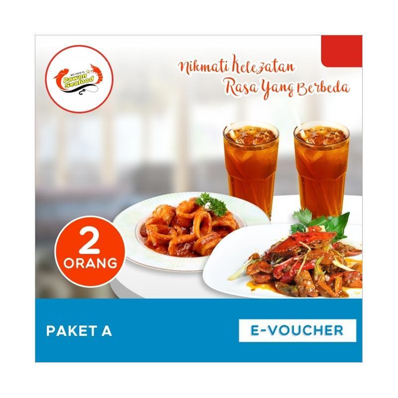 harga Pawon Seafood Paket A Paket Makan Berdua E-Voucher Blibli.com