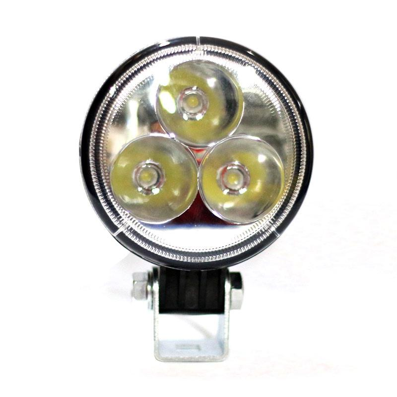 Autovision Spot Work Light Cee LED Bohlam Lampu Mobil [82 mm/12 V-24 V/9 W/6000 K]