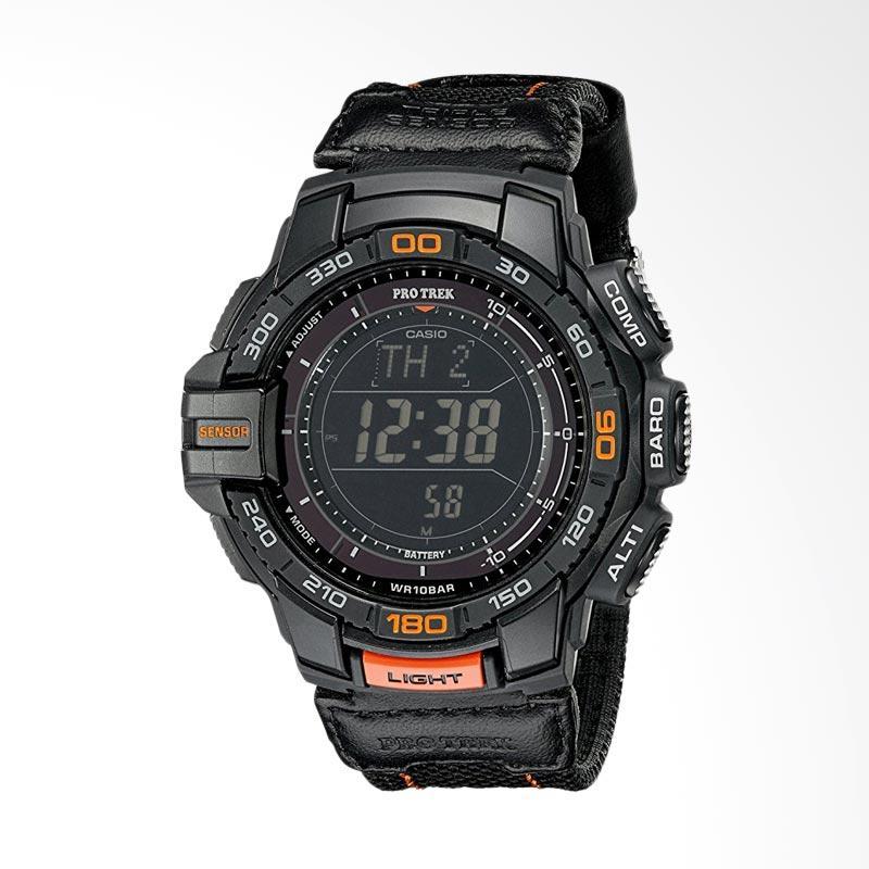 Casio Men's Pro Trek Aviator Digital Display Quartz Watch Jam Tangan Pria - Black PRG-270B-1CR
