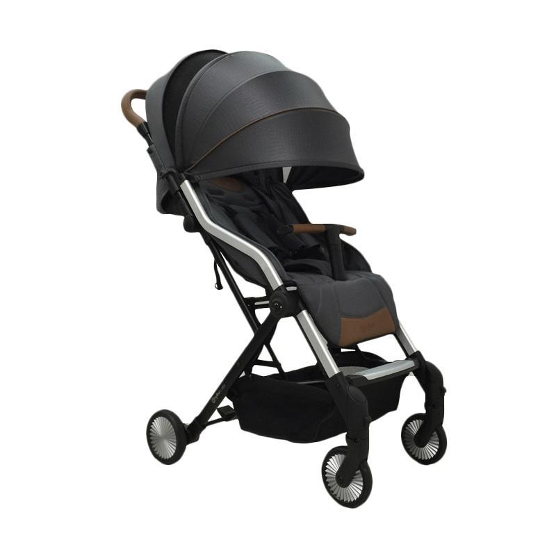 Hybrid Cabi Stroller Bayi - Dim Grey