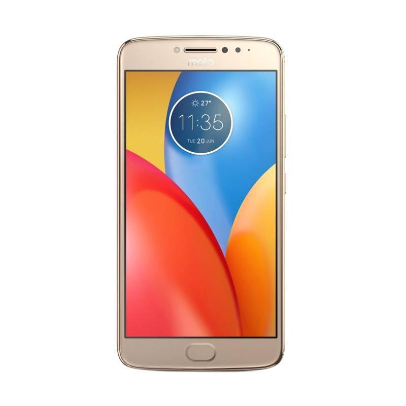Motorola Moto E4 Plus XT1770 Smartphone - Gold [32GB/3GB]