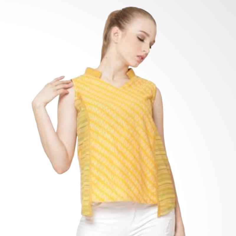 Djoemat Gembira Svasti Sleeveless Top In A17-01-11 Atasan Wanita - Yellow