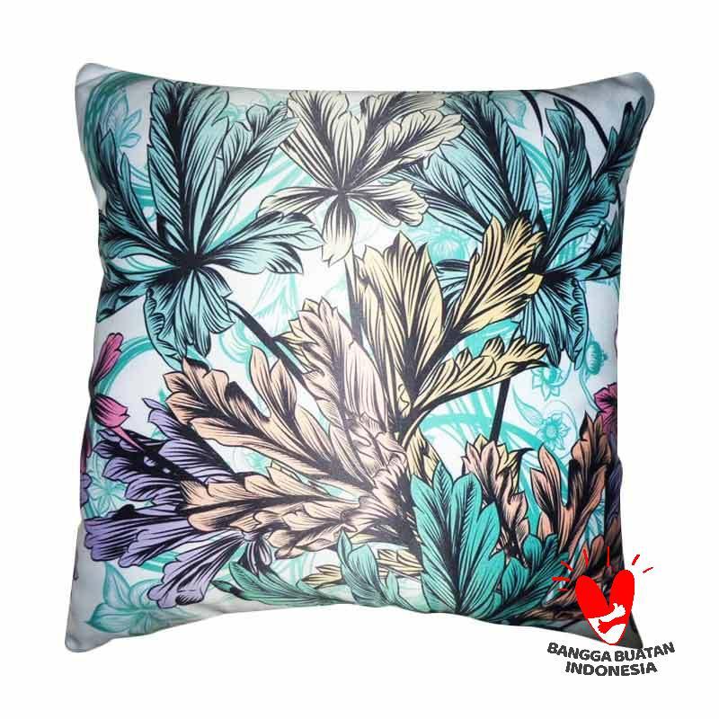 PSFS Leaf Pattern Sarung Bantal Sofa [40 x 40 cm]