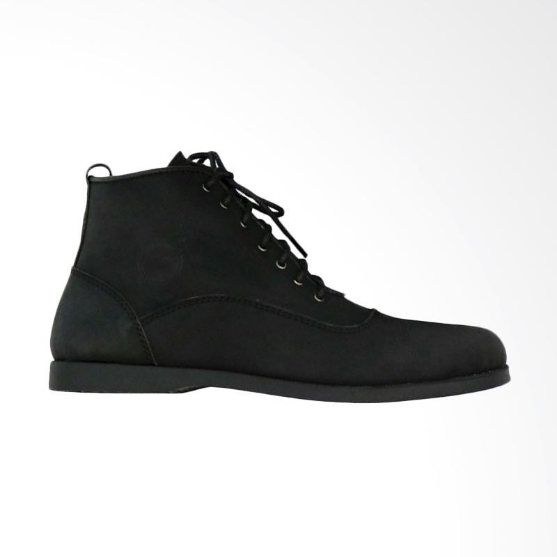 Frandeli Lace Up Klasik Original Sepatu Boots Pria