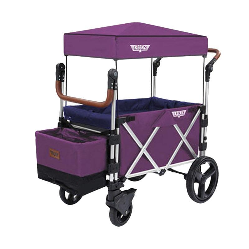 Keenz Stroller Wagon 7s Kereta Dorong Bayi - Purple Magic