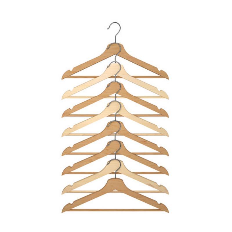 harga Ikea Bumerang Clothes Hanger Set - Kayu [8 pcs] Blibli.com