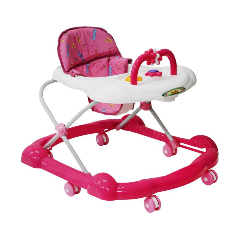 Family 136 Baby Walker - Pink