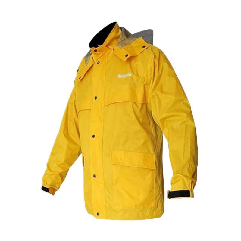 Respiro Impor Premium Dry Core Jas Hujan Kuning
