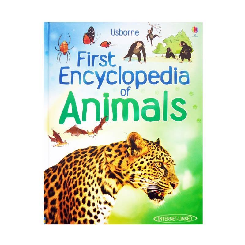 Genius Usborne First Enclyclopedia of Animals Buku Edukasi Anak