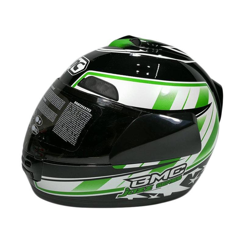 BMC JAZZ #14 Helm Full Face - Black White Green. Rp 234.000 Rp 293.000 20% OFF