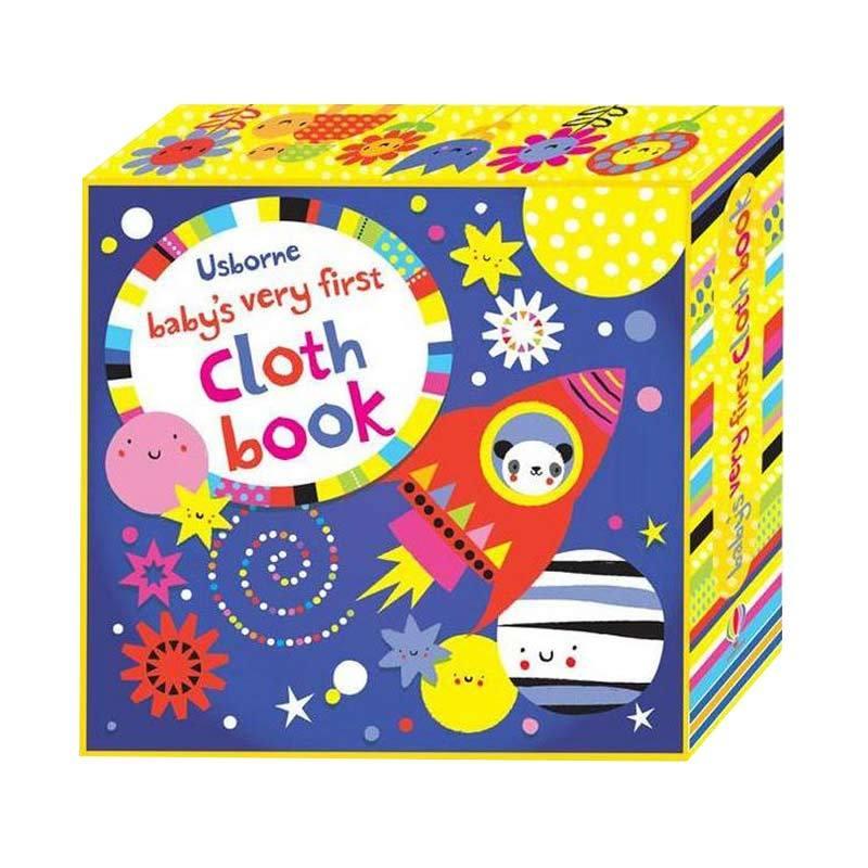 Genius Usborne Baby's Very First Cloth Book Buku Anak