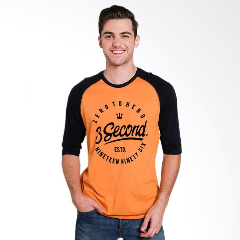 3SECOND 4812 Men T-shirt - Blue [148121712]