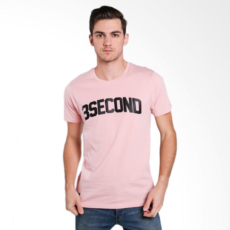 3SECOND 5812 Men T-shirt - Pink [158121712]