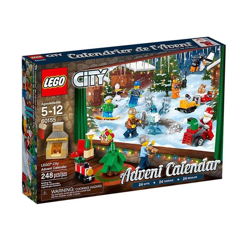 LEGO City 60155 City Advent Calendar Blocks & Stacking Toys
