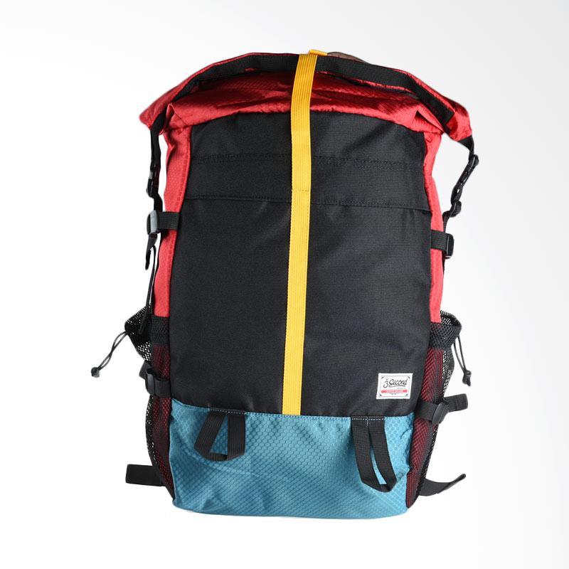 3SECOND 0112 Men Bag - Red