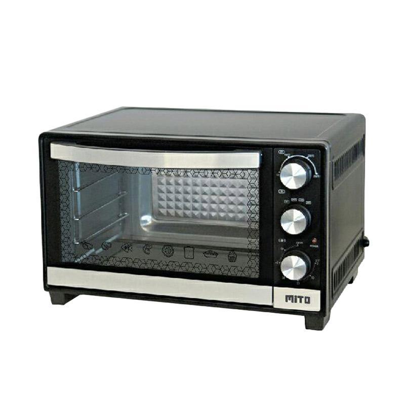 MITO MO-999 Oven Listrik - Hitam [25 L]