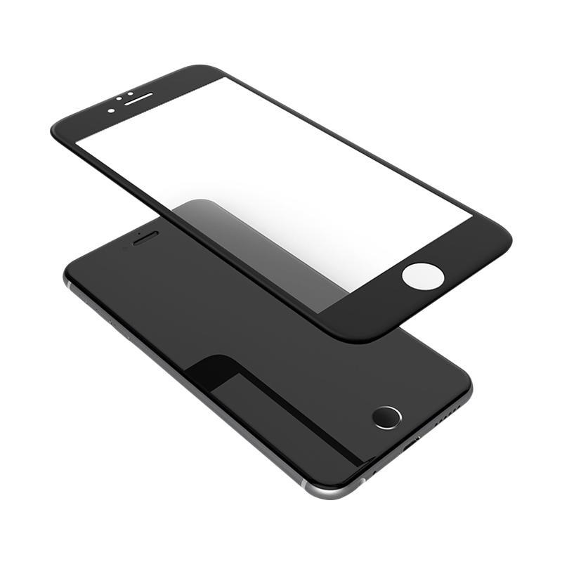Jual Uneed Hybrid Glass 3D Screen Protector for iPhone 6 Plus or 6S Plus - Black Online - Harga & Kualitas Terjamin | Blibli.com