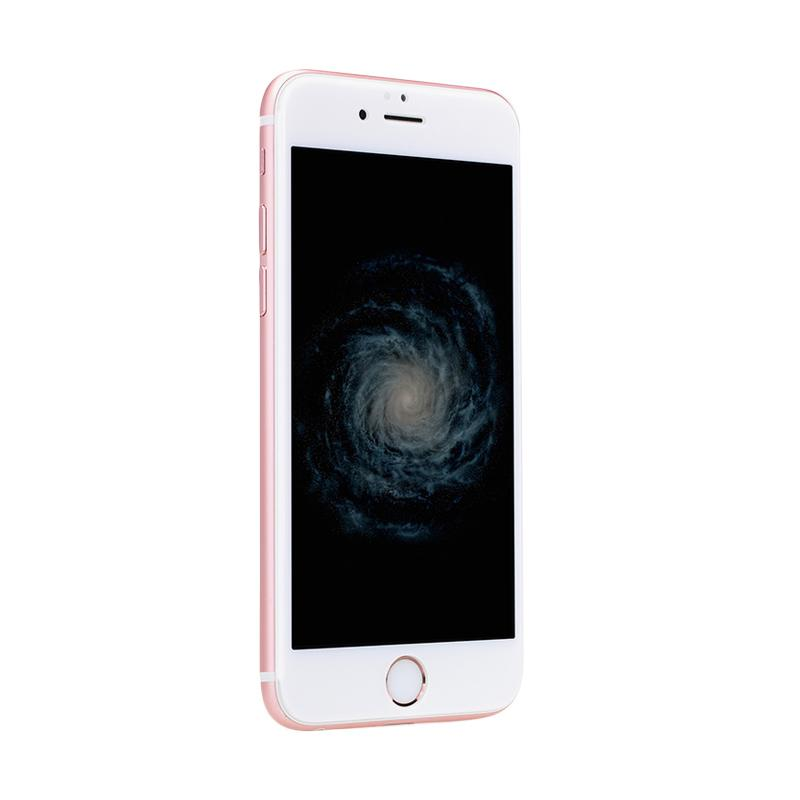 Jual Uneed Hybrid Glass 3D Screen Protector for iPhone 6 Plus or 6S Plus - White Online - Harga & Kualitas Terjamin | Blibli.com
