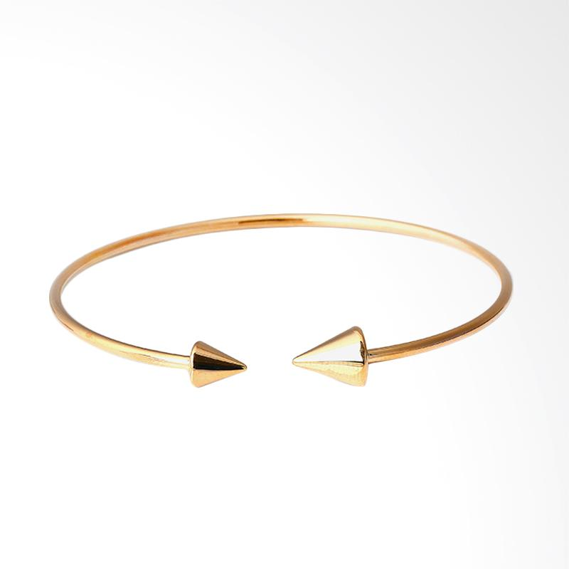 WhizLiz Vilia Bangle Gelang Emas - Gold [18K]