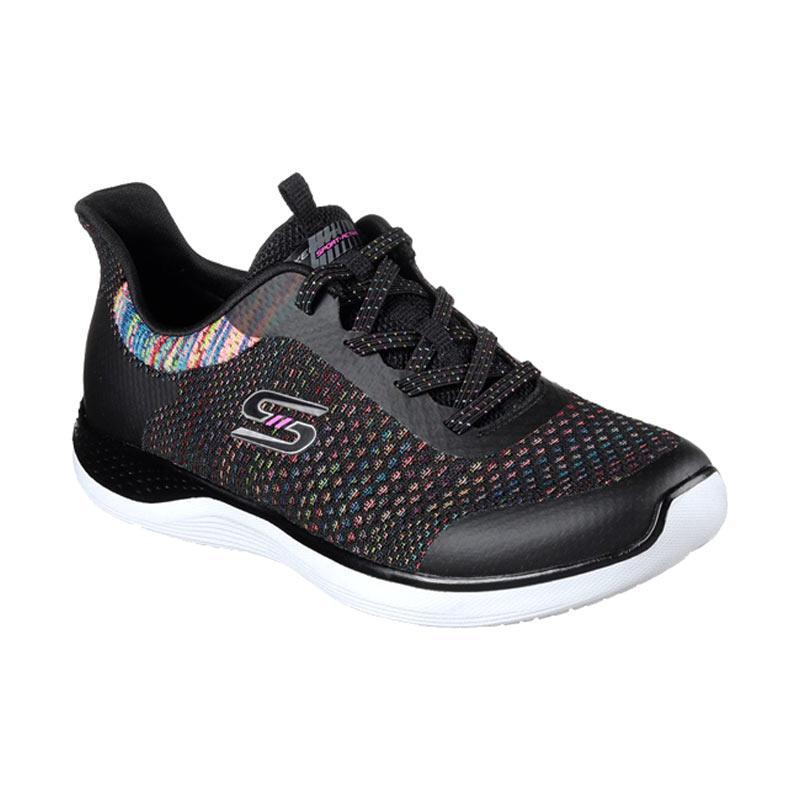Skechers Orbit Flying Fleet Sepatu Olahraga Wanita - Black Combi [23352BKMT]