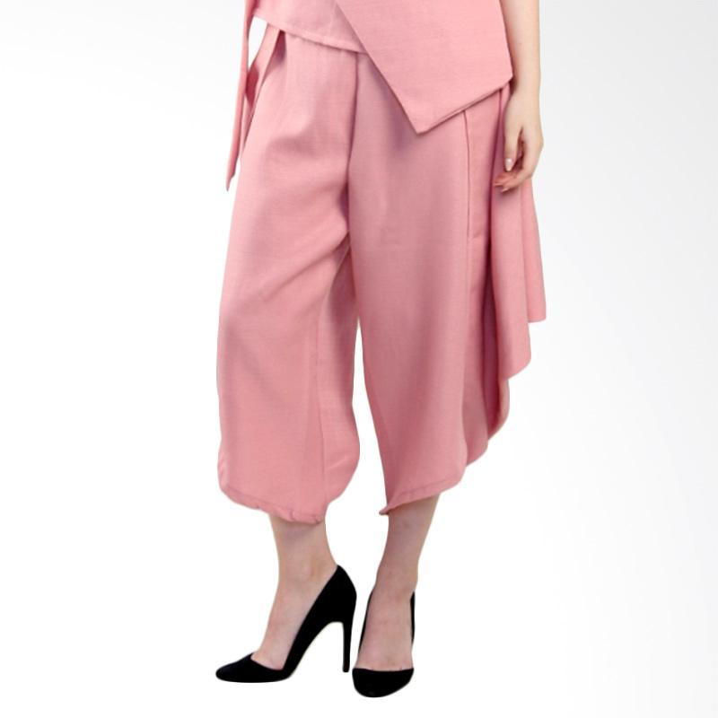 harga Rianty Basic Inez Pants Bawahan Wanita - Pink Blibli.com