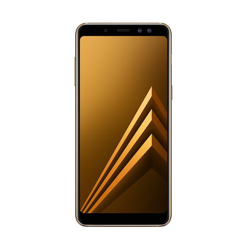 Samsung Galaxy A8+ 2018 Smartphone - Gold [64 GB/ 6 GB]