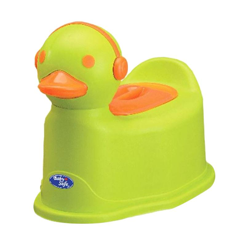 Baby Safe UF003 Duck Potty Green Toilet Training Anak - Hijau