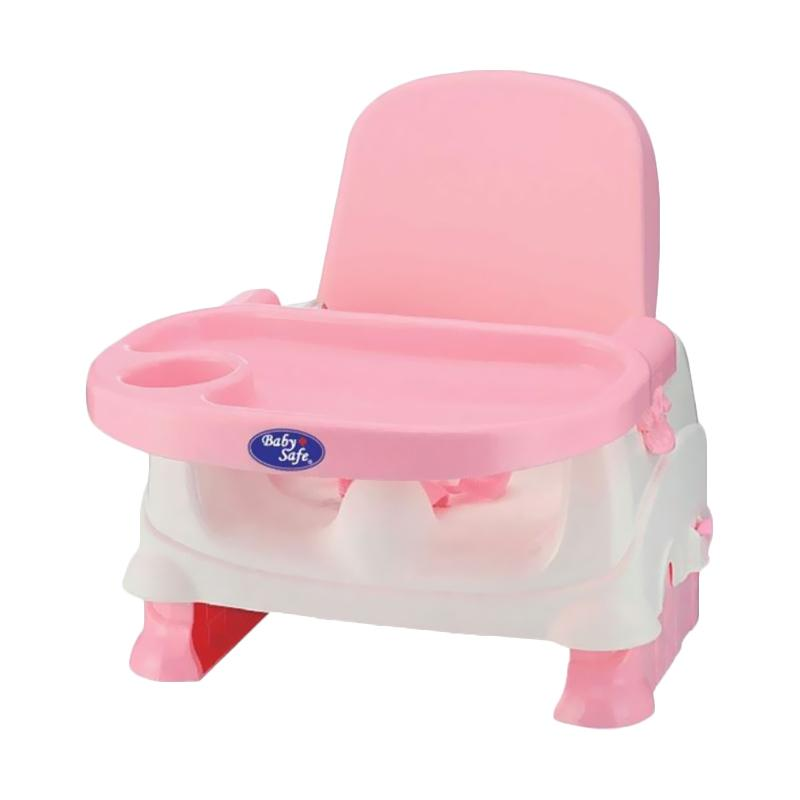 Weekend Deal - Baby Safe BO01P Folding Booster Seat Kursi Makan Anak - Pink