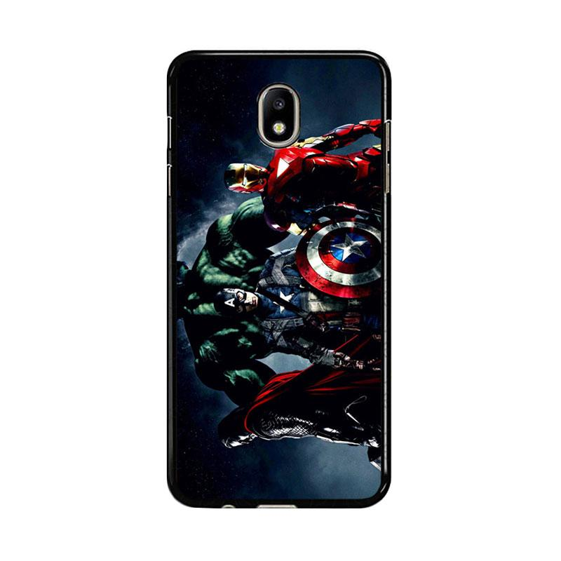 Flazzstore Avenger Captain America Thor Hulk And Iron Man F0152 Custom Casing for Samsung Galaxy J5 Pro 2017