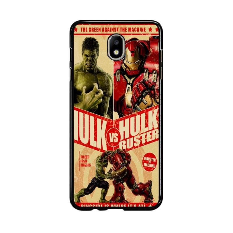 Flazzstore Hulk Vs Hulkbuster Poster Z0741 Custom Casing for Samsung Galaxy J7 Pro 2017