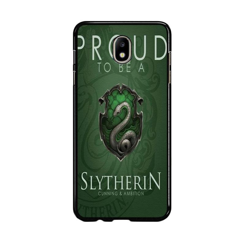 Flazzstore Proud To Be Slytherin F0574 Custom Casing for Samsung Galaxy J7 Pro 2017