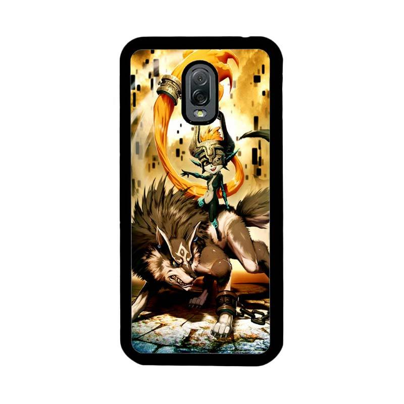 Flazzstore Zelda And Wolf Twilight Princess Z0255 Custom Casing for Samsung Galaxy J7 Plus