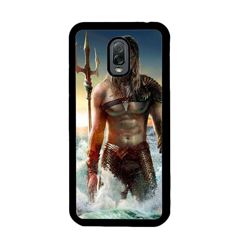 Flazzstore Jason Momoa As Aquaman Z0582 Custom Casing for Samsung Galaxy J7 Plus