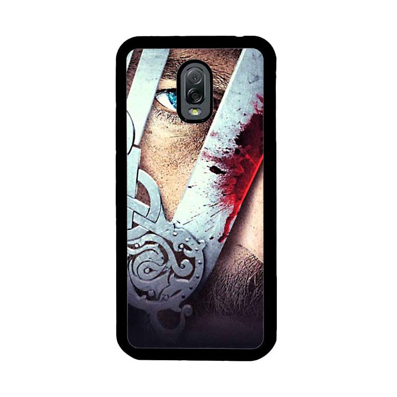 Flazzstore Vikings Tv Show Eyes Z0937 Custom Casing for Samsung Galaxy J7 Plus
