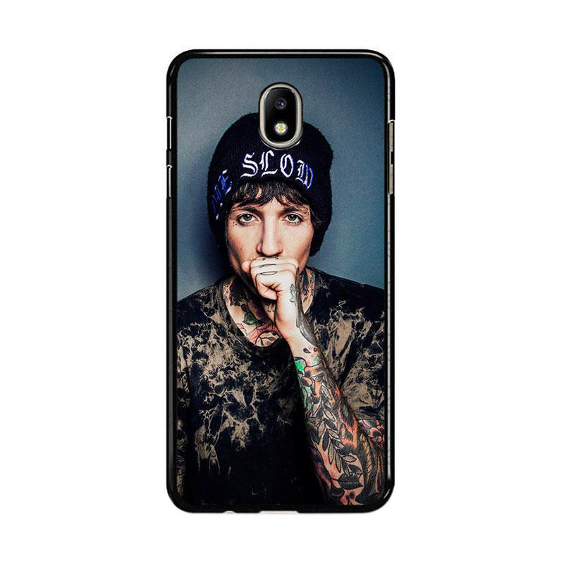 Flazzstore Oliver Sykes Bring Me The Horizon And Signature F0543 Custom Casing for Samsung Galaxy J5 Pro 2017
