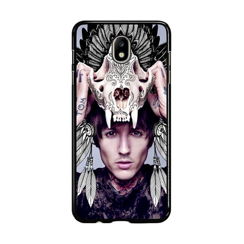 Flazzstore Oliver Sykes Skull Head Z0275 Custom Casing for Samsung Galaxy J7 Pro 2017