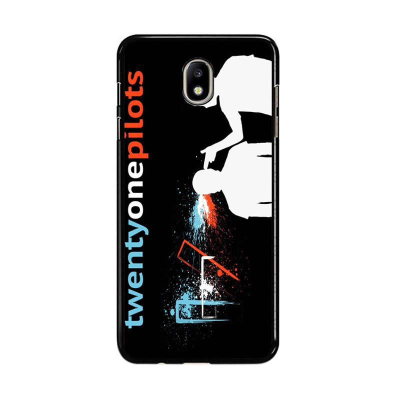 Flazzstore Twenty One Pilots Z0439 Custom Casing for Samsung Galaxy J7 Pro 2017