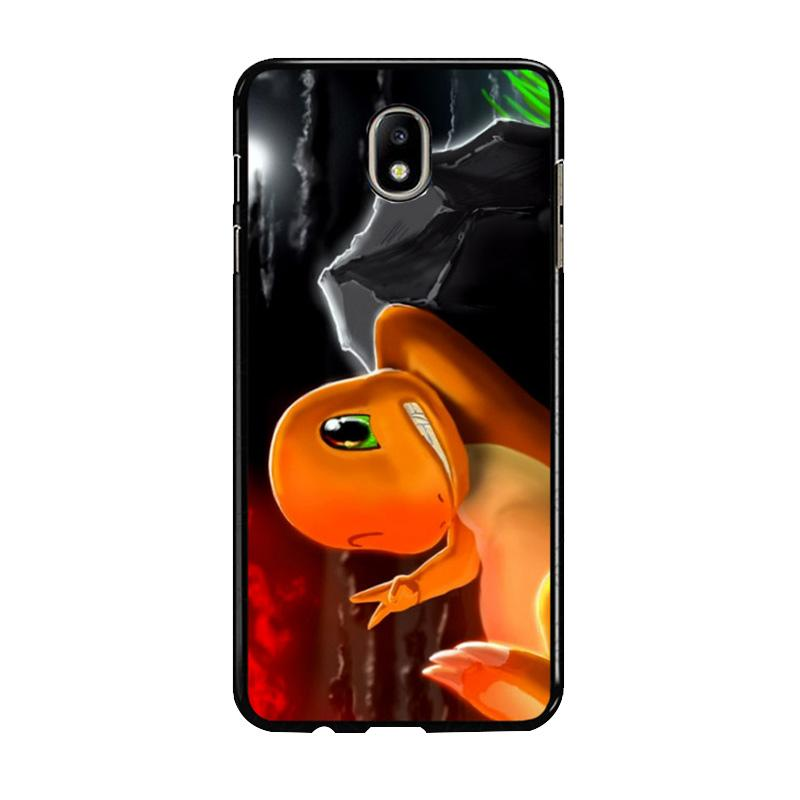 Flazzstore Charmeleon Pokemon Z1196 Costum Casing for Samsung Galaxy J7 Pro 2017