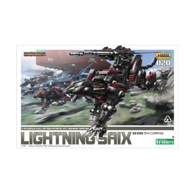 Kotobukiya Zoids HMM EZ-035 Lightning Saix Model Kit [1:72]