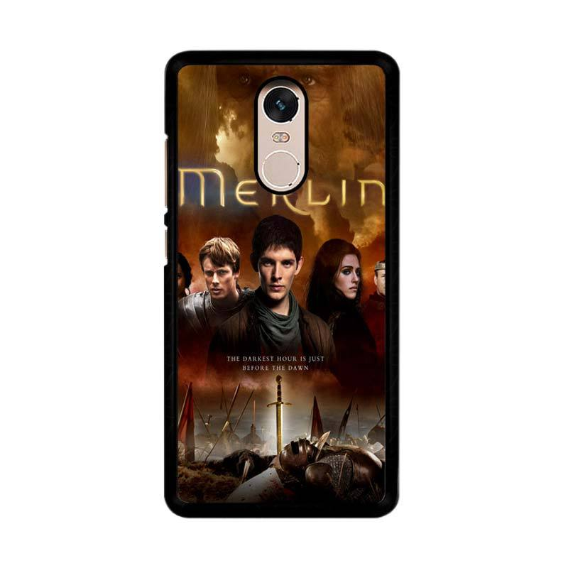 Flazzstore Merlin Fantasy Adventure Television Z0556 Custom Casing for Xiaomi Redmi Note 4 or Note 4X Snapdragon Mediatek