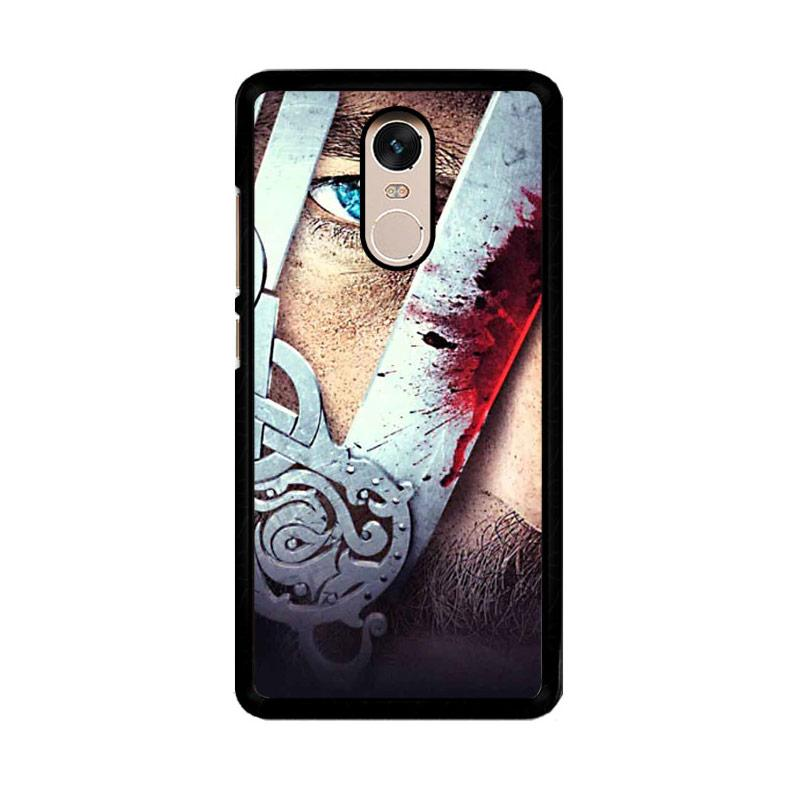 Flazzstore Vikings Tv Show Eyes Z0937 Custom Casing for Xiaomi Redmi Note 4 or Note 4X Snapdragon Mediatek