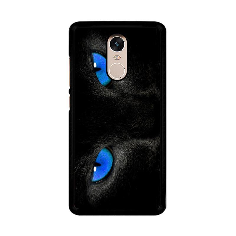 Flazzstore Black Cat Eyes Z1119 Custom Casing for Xiaomi Redmi Note 4 Note 4X Snapdragon Mediatek